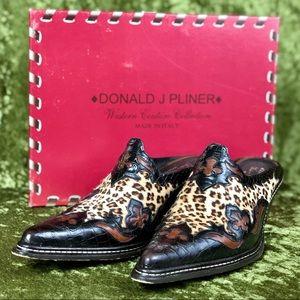 Donald J. Pliner Shoes - LAST CHANCE 💅 Donald J. Pliner Juta ponyhair mule